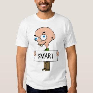 Smart guy funny white t-shirt