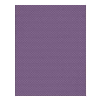 Smart light purple flower with wavy petals on roug flyers