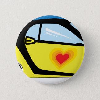 Smart Love 6 Cm Round Badge