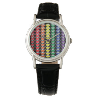 Smart Mouth Rainbow Lipstick Lips Watch
