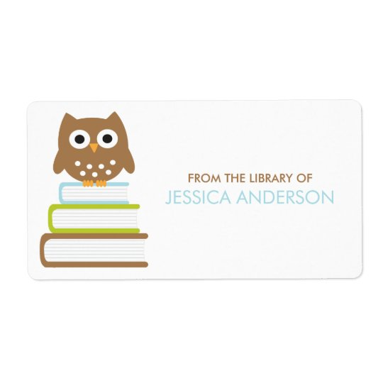 Smart Owl Bookplates Labels