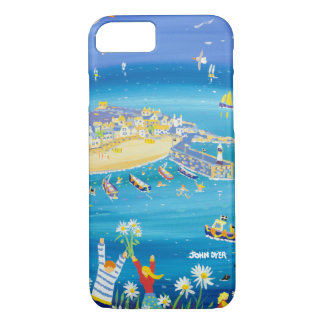 Smart phone case. St Ives, Cornwall by John Dyer iPhone 8/7 Case