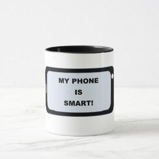 Smart phone Ringer mug