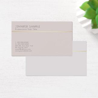 Smart Plain Creative Elegant Classic Color Harmony Business Card