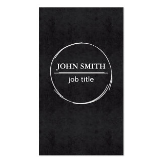 Smart professional black&white business card