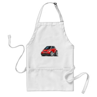 Smart Red Car Standard Apron