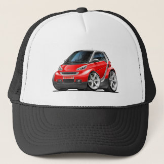 Smart Red Car Trucker Hat