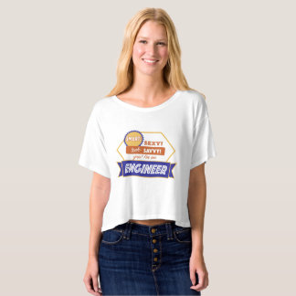 Smart Sexy Engineering woman T-Shirt