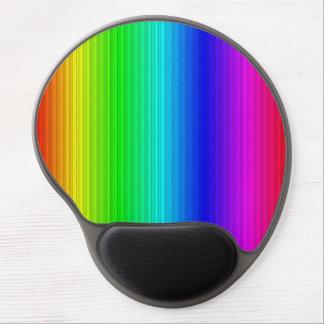 smart stripes rainbow gel mouse pads