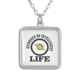 smart we love football silver plated necklace