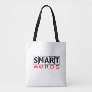 Smart Words Logo Tote Bag
