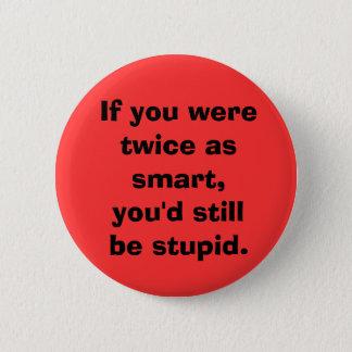 Smart x2 6 cm round badge