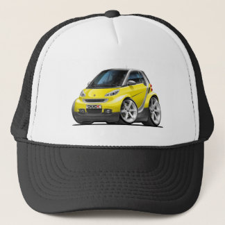Smart Yellow Car Trucker Hat