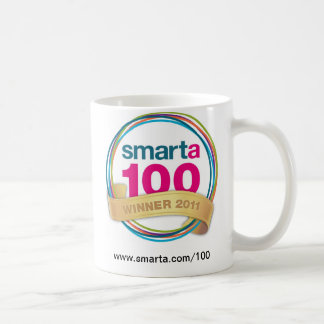 Smarta 100 winners' mugs