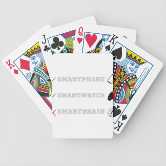 Smartbrain? Bicycle Playing Cards