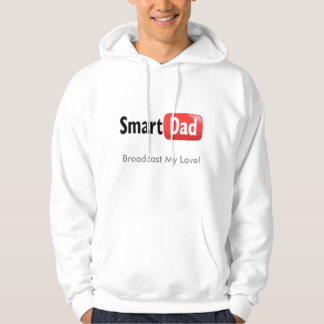 smartdad, Broadcast My Love! Hooded Pullovers