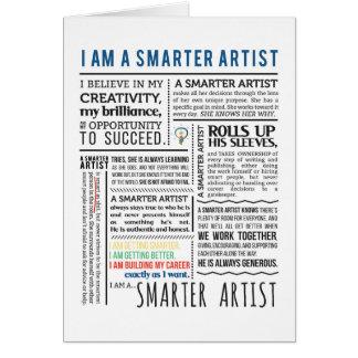Smarter Artist Manifesto Card