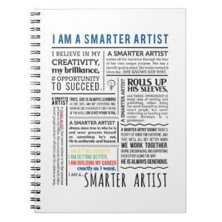 Smarter Artist Manifesto Notebook