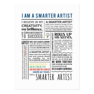 Smarter Artist Manifesto postcards