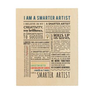 Smarter Artist Manifesto Wall Art