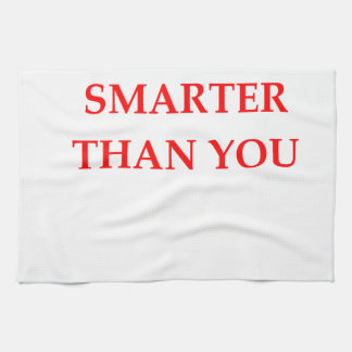 SMARTER TEA TOWEL