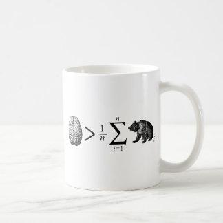 Smarter Than The Average Bear Basic White Mug
