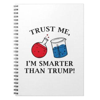 Smarter Than Trump Notebooks