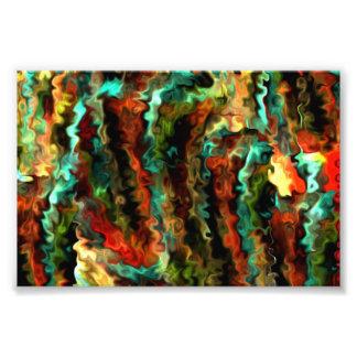 Smarter Wavy Abstract Modern Art 1.5 Photo Print