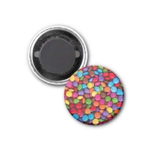 Smarties Background Refrigerator Magnets