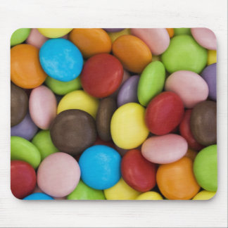 smarties background mouse mat