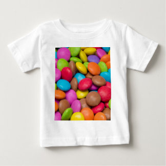 Smarties Candy background Baby T-Shirt