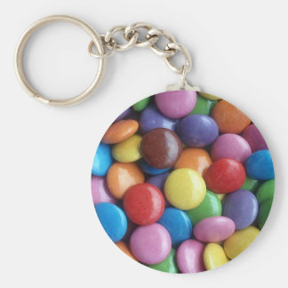 Smarties Key ring Basic Round Button Key Ring
