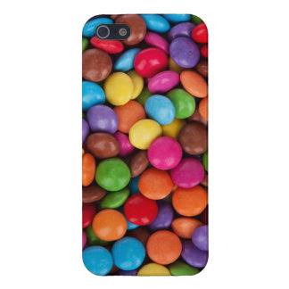 Smarties Red, blue, green and brown coloured candy Case For iPhone 5/5S