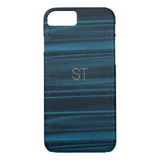 Smartphone Case in Navy Silk