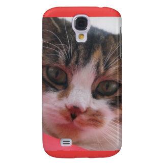 Smartphone Cat Design Galaxy S4 Cases