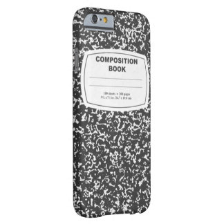 Smartphone Composition Notebook Case Best Seller Barely There iPhone 6 Case