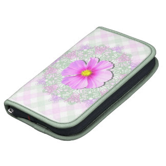 SmartPhone Folio - Bi-Color Cosmos on Lace & Latti Planners