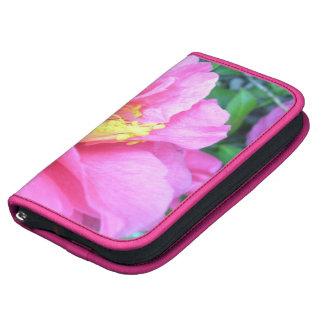 SmartPhone Folio - Dark Pink Camellia Planner