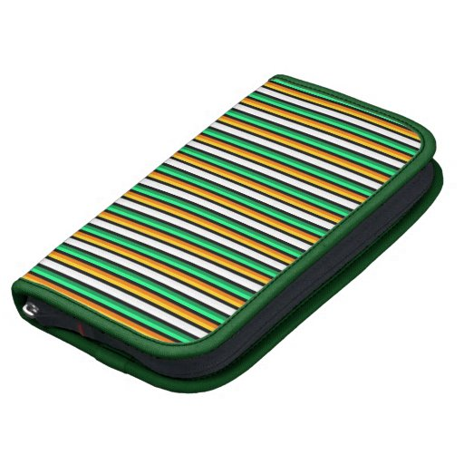 SmartPhone Folio - Irish Stripes Folio Planners