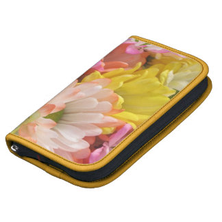 SmartPhone Folio - MultiColored Daisies II Folio Planner