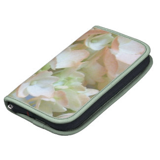 SmartPhone Folio - Peach Hydrangeas Folio Planners