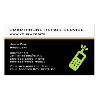 Cellphone business cards 220 cellphone busines card for Phone repair business card