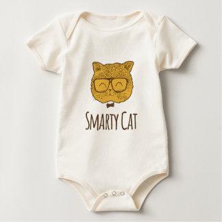Smarty Cat Baby Bodysuit