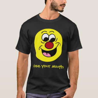 Smarty Pants Smiley Face Grumpey T-Shirt