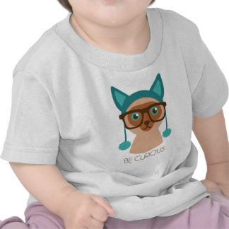 Smarty Smart Cat T-shirts