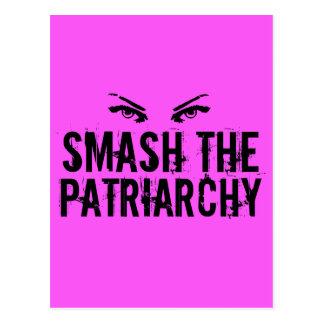 Smash the Patriarchy Postcard