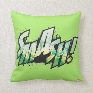 SMASH! Word Graphic Cushion