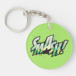 SMASH! Word Graphic Key Ring