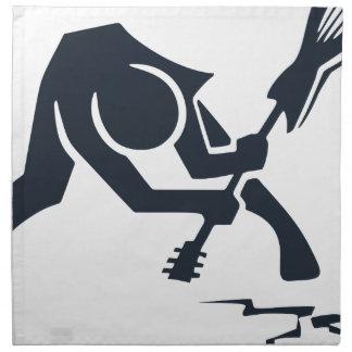 Smashing Guitar Napkin