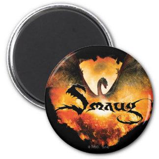 SMAUG™ Over Laketown Magnet